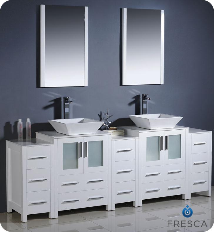 60 in bathroom vanity double sink. 60 Inch Double Sink Bathroom Vanity  Caroline In White By