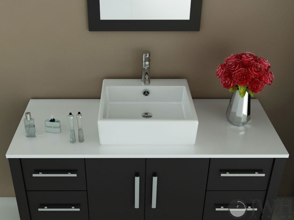 Grand Crater Single Bathroom Vanity Bathgems Com