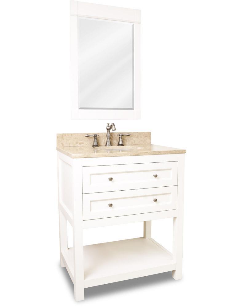 """30 Bathroom Vanity With Top: 30"""" Astell Single Bath Vanity"""